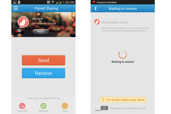 It much better than AirDrop! SHAREit supports not only Android phones ...