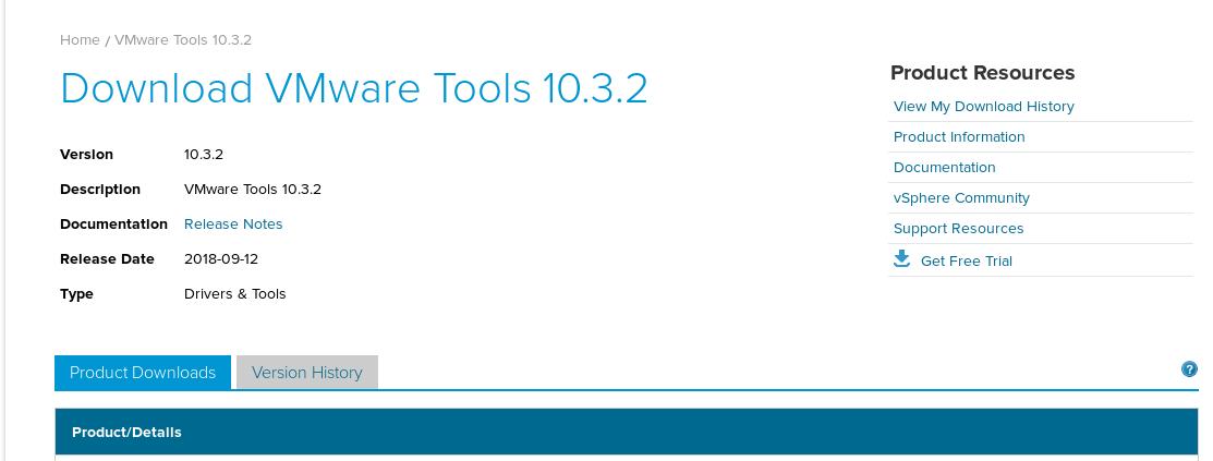 VMware Tools 10 3 0 recall - update 10 3 2 fix released